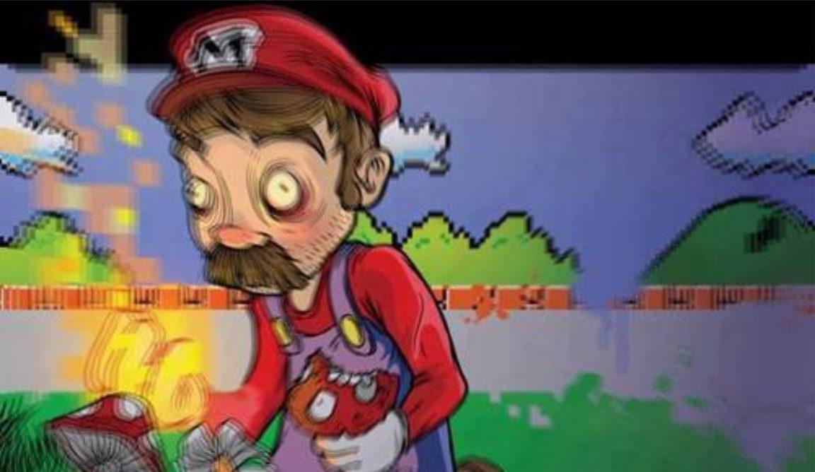 Super Mario drogas alucinógenas