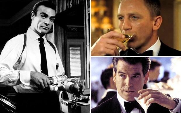 James Bond sofre de alcoolismo?