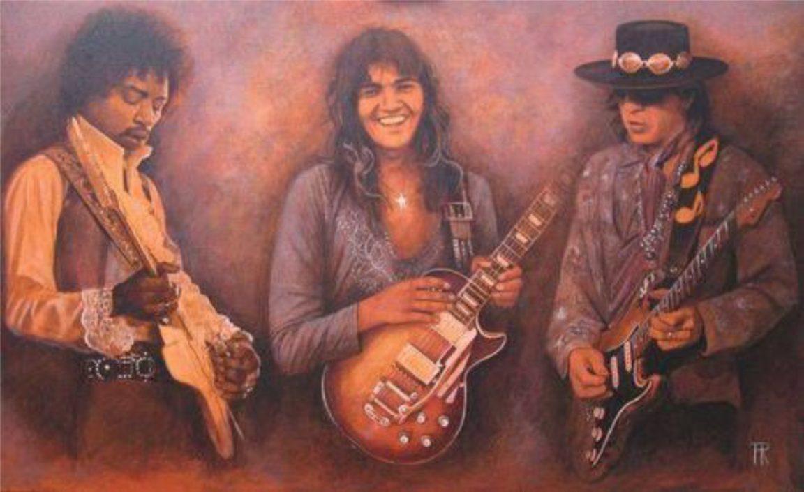 Guitarristas Ases das seis cordas Azylo Hotel