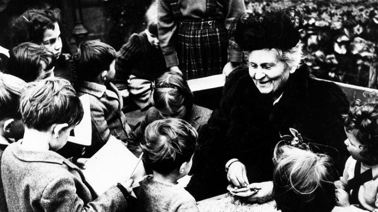 Maria Montessori educadora dia do professor