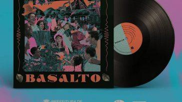 Coletanea Basalto LP bandas de Londrina
