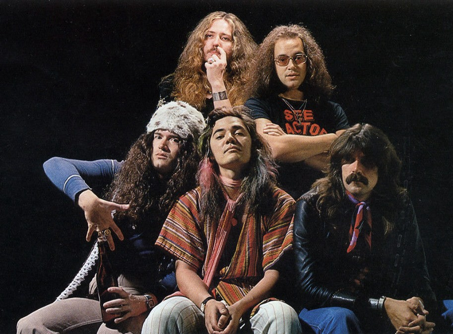 Deep Purple Tommy Bolin Azylo Hotel