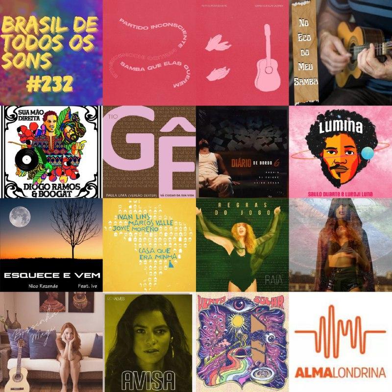 Curta a seleta do Brasil de Todos Os Sons