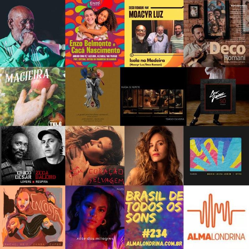 Novos Sambas no Brasil de todos os sons