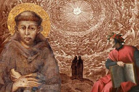 São Francisco de Assis e Dante Alighieri
